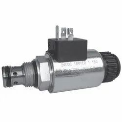 2/2 Directional Valve, Solenoid Operated, Poppet-Type, Blocking, Direct-Acting