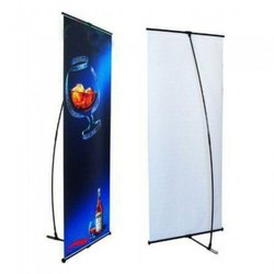 Acrylic Glossy Promotional Roll Up Banner Stand, Warranty: 1 Year, Size: 6-6.5 Feet