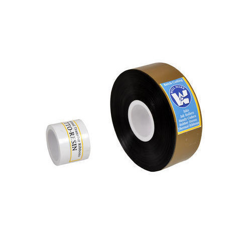Black TTO Printer / Near Edge Batch Coding Ribbon Resin
