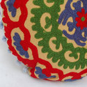 Modern Embroidered Cushion