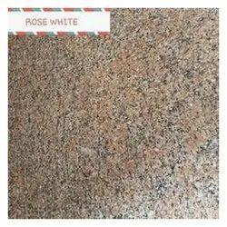 White Rose Granite Slabs, For Flooring, Thickness: 15-20 mm