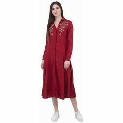 Ladies Red Kurti
