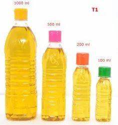 Transparent Type 1 - Pet Bottle for Edible/ Non Edible Oil