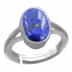Lapis Lazuli Ring Pure Silver Gemstone
