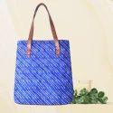 Tussar Silk Laptop Tote Bags