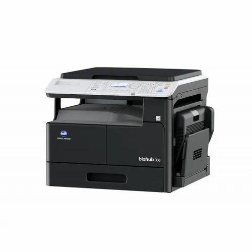 Bizhub306 Konica Minolta Photocopy Machine, Memory Size: 512 Mb (standard)