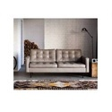 Bab Leather Lounge Lustre Chesterfield Sofa