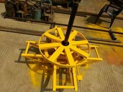 Turn Table for Overhead Transmission Line