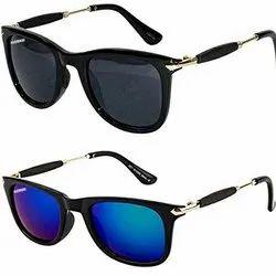 Casual Wear Designer Polycarbonate Wayfarer Sunglasses