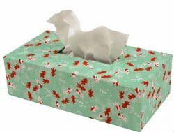 Printed Tissue Paper Box