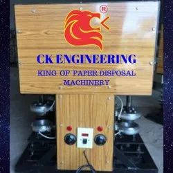 Double Die Semi Auto Silver Dona Making Machine