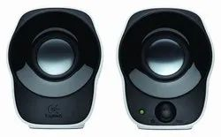 Logitech Z120 Stereo Speaker (Black and White), Size: 17.8 x 11.8 x 12.2 cm