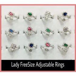 Ladies Adjustable Rings