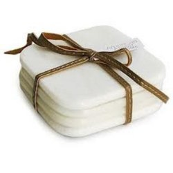 White Marble Coasters (Set of 4 pcs.)