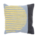 Geometric Embroidered Throw Pillow Cover