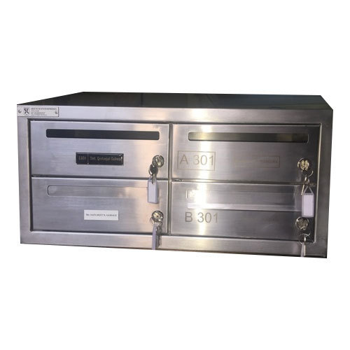 aluminium letter box cabinet letter box wall mounted letter box