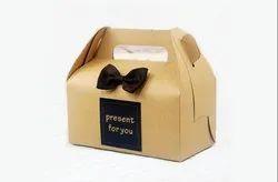 Custom Die Cut Take Away Box