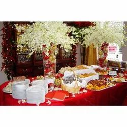North Indian Caterers Services, Delhi, Counter Decoration