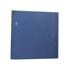 Blue Indoor Ground Rubber Tiles, Thickness: 15-20 mm