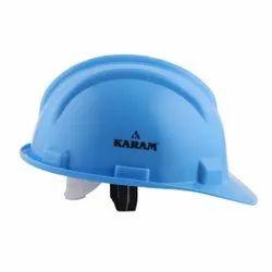 Karam PN541 Star Blue ISI Marked Safety Helmet with Peak