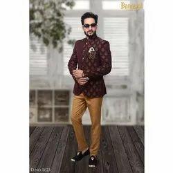 Festive Mens Terry Rayon Jodhpuri Suit