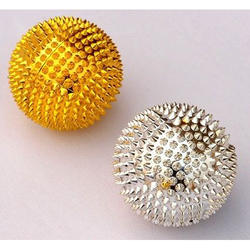 Silver Golden Acupressure Ball Set