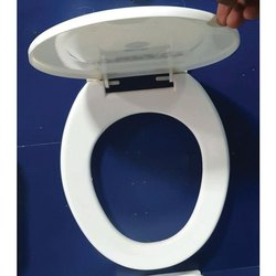 KAG Tiles White Plastic Toilet Seat Cover, For Bathroom Fitting, Packaging Type: Box