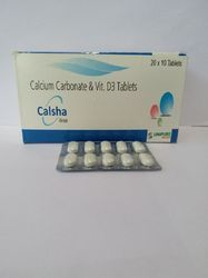 Calcium Carbonate and Vit D3 Tablet