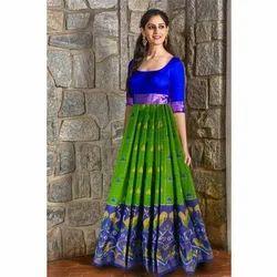 Cotton Printed Designer Anarkali Suit