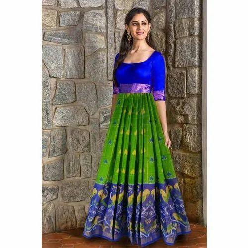 787b013622 Cotton Printed Designer Anarkali Suit, Rs 7500 /piece, Jharna's ...