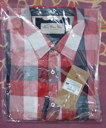 Cotton Checks Shirts For Men Full Sleeves