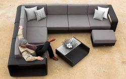Wicker Sofa Set