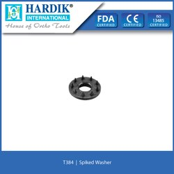 Spiked Washer (Titanium)