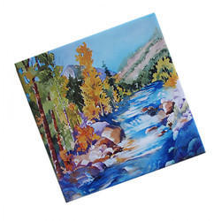 Ceramic Sublimation Tile, Size: 8 x 8 Inch, Thickness: 6 - 8 mm