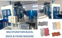 Hydraulic Multifunction Paver Block Machine With Stacker