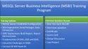 MSSQL Server Business Intelligence Training
