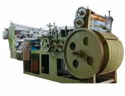 Roll Feed Type Sharp Bottom Paper Bag Making Machine