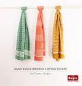 Block Printed Cotton Stoles