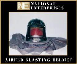 Airfed Blasting Helmet