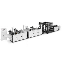 Fully Automatic Box Type Non Woven Shopping Bag Making Machine