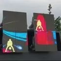 P4.8 LED Display Curve Screen For Stage