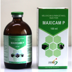 Maxicam P (Meloxicam 5mg and paracetamol 150mg/ml)