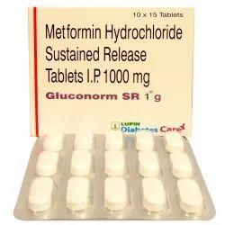 Metformin 1000 (Tenemet SR)