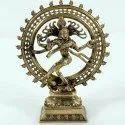 Capstona Brass Natraj Dancing Idols