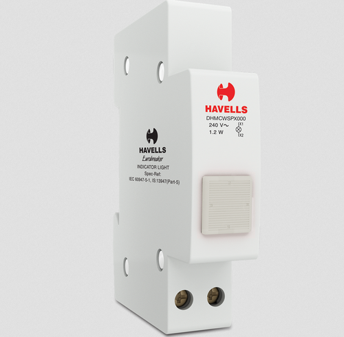 Havells Indicator Light Clear Circuit Breaker