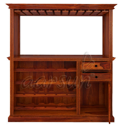 Aarsun Wooden Handcrafted Bar Cabinet, Dimension: 48 X 15 X