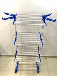 TNC Double Poll 3 Tier Cloth Drying Stand