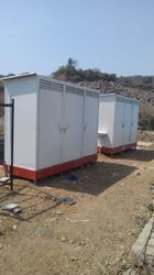 Color Coated FRP Portable Toilets