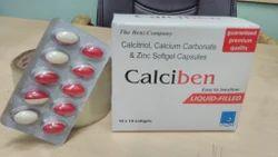 Calciben Soft (Soft Gelatin Capsules)