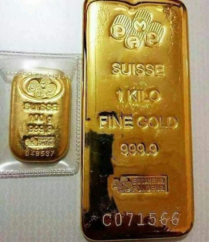 Gold In Bars Size 1 Kg Rs 2600000 Kilogram 9999 Purity Gold Bars Supplier Id 21158604962